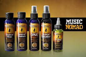 Gitarrenpflege mit Music-Nomad-Produkte